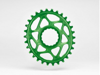 roda ped.absblack raceface oval 32d green