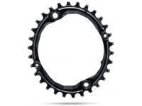 roda ped.absblack oval 28d 64bcd black