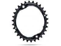 roda ped.absblack oval 30d 104bcd black