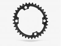 roda ped.absblack oval 30d 110bcd 4f 2x black