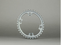 roda ped.absblack shimano oval 39d 110/4 2x 9100bl