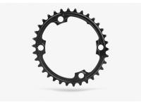roda ped.absblack oval 32d 110/4 2x +paraf. black
