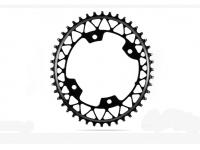 roda ped.absblack gravel oval 46d 110/4 1x