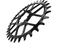 roda pedaleira ka bb30 spiderless oval 34t black