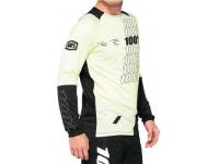 camisola 100% r-core m/comp amarelo/preto