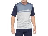 camisola 100% airmatic m/curt azul/cinza