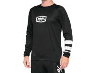 camisola 100% r-core m/comp preto/branco