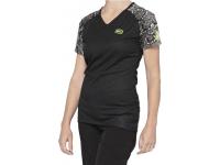 camisola 100% senhora airmatic m/curt preto python