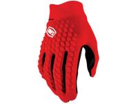 luvas 100% geomatic vermelho c/dedos