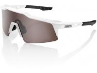 oculos 100% speedcraft sl branco lentes silver