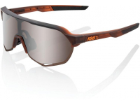 oculos 100% s2 castanho transl lentes hiper silver