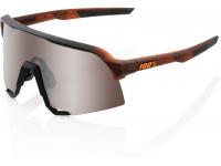 oculos 100% s3 bora branco lentes hiper silver