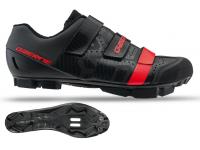 sapatilhas gaerne g.laser black red