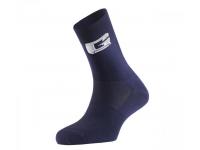 meias gaerne g-prof.long blue/white 4198-033