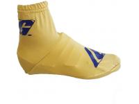 capas sapatilhas gaerne douradas