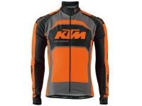 camisola ktm factory team preto/lar. m/compri 2013