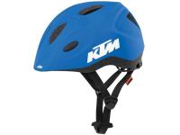 capacete ktm factory line kids 48-52 azul/laranja