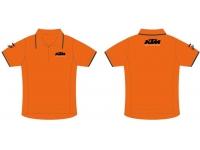camisola polo ktm laranja