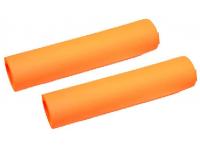 punhos ktm silicone prime round laranja 3653421