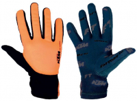 luvas ktm factory team preto/laranja c/dedos 65795