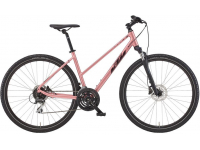 bicicleta ktm x-life track rosa 2022