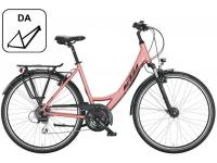bicicleta ktm life joy rosa da 2022