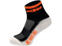 meias ciclista ktm prt./laranja/branco carbon36/39