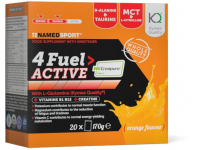 suplemento namedsport 4fuel active 170grlaranj/20s