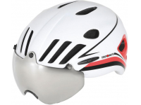 capacete suomy vision white/red