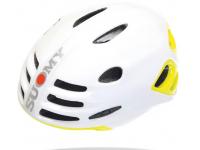 capacete suomy sfera white glossy/yellow fluo glos