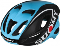 capacete suomy glider black/blue