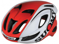 capacete suomy glider white/red