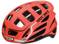 capacete suomy gun wind s-line orange/white matt