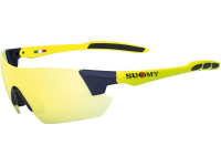 oculos suomy sanremo yellow/blue