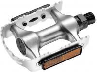 pedais bic. mtb aluminio prata sp-910slvr/slvr