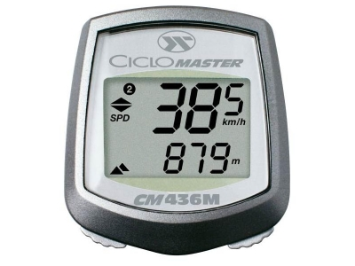 conta/km altimetro ciclosport cm436m c/software