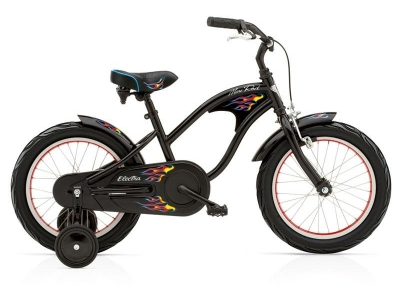 bic. electra kids'mini road 1 16' black boy 276414