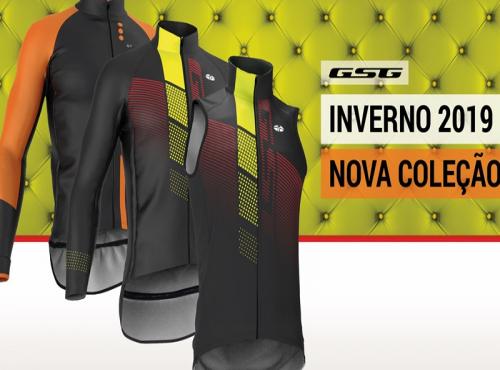 UAU Giessegi! É a nova coleção de vestuário de ciclismo Inverno